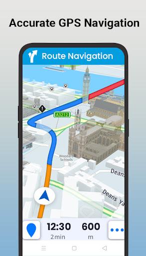 GPS Satellite - Live Earth Maps & Voice Navigation screenshot 2