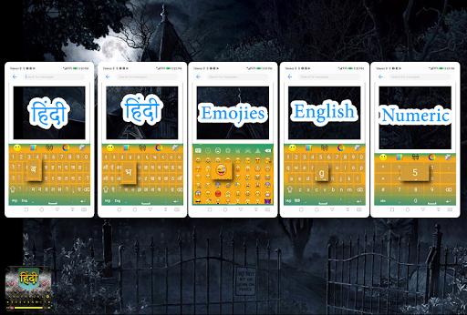 Hindi keyboard - English to Hindi Translation screenshot 3