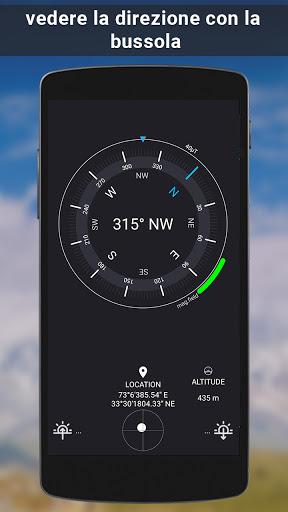 GPS satellite - terra mappe & voce navigazione screenshot 6