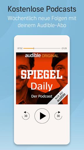 Audible: Hörbücher, Hörspiele & Podcasts hören screenshot 4