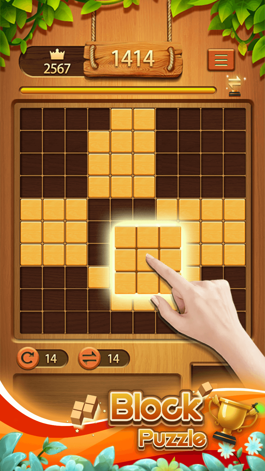 Classic Block Puzzle——Wood Block Puzzle Game screenshot 1