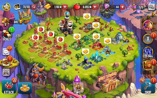 Monster Legends: Breed, Collect and Battle स्क्रीनशॉट 18
