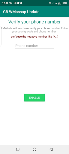 GB WMashapp Chat Offline screenshot 1
