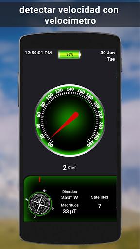 GPS satélite - En Vivo tierra mapas Y voz náutica screenshot 7