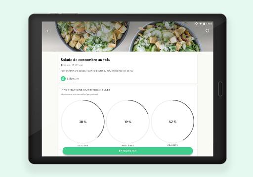 Lifesum: Compteur de Calories screenshot 11