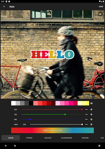 Phonto - Testo su Foto screenshot 11