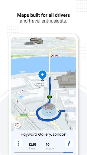 Navegação GPS ao vivo, mapas, direções e explorar screenshot 2
