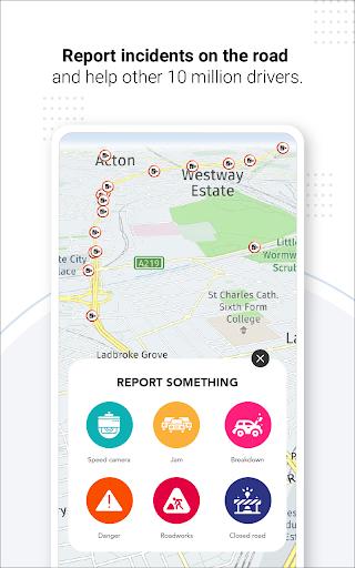 Navegação GPS ao vivo, mapas, direções e explorar screenshot 20