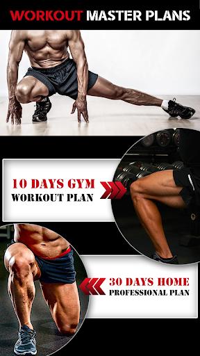 Leg Workout for Men - Thigh, Muscle Fitness 30 Day 2 تصوير الشاشة