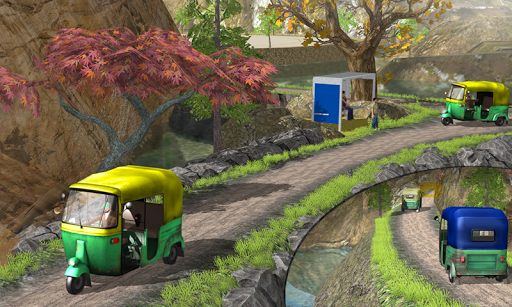 Tuk Tuk Auto Rickshaw Offroad Driving Games 2020 screenshot 8