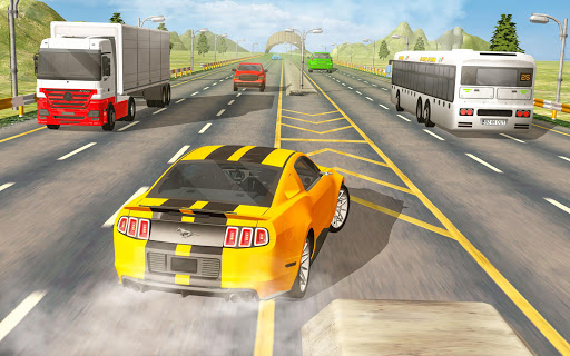 Real Highway Car Racing Games- New Car Games 2021 screenshot 2