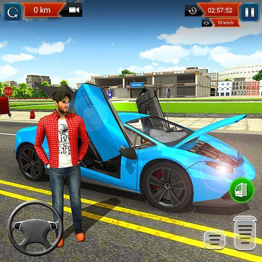 araba yarışı oyunları 2019 bedava - Car Racing icon