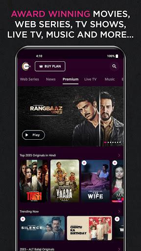 ZEE5: Movies, TV Shows, Web Series, News screenshot 3