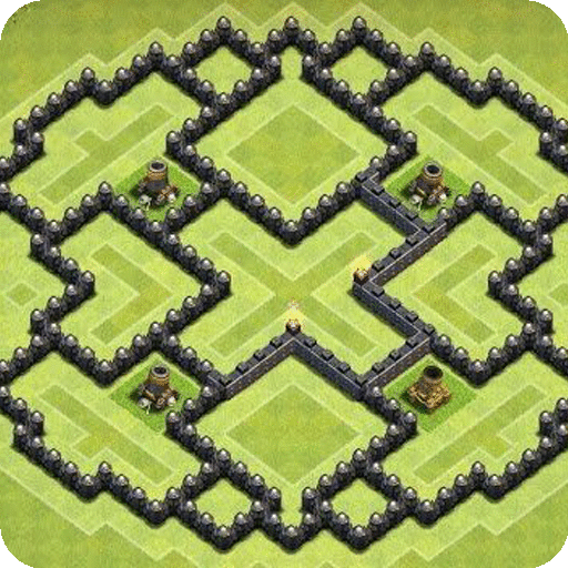 Maps of Clash of Clans 2021 icon