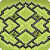 Maps of Clash of Clans 2021 on 9Apps