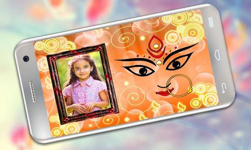 Durga Maa Photo Frames 3 تصوير الشاشة
