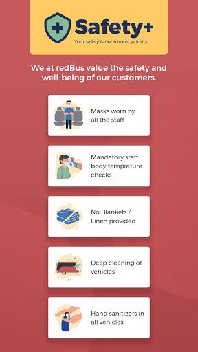 redBus - Online Bus Tickets and Ferry Booking App screenshot 2