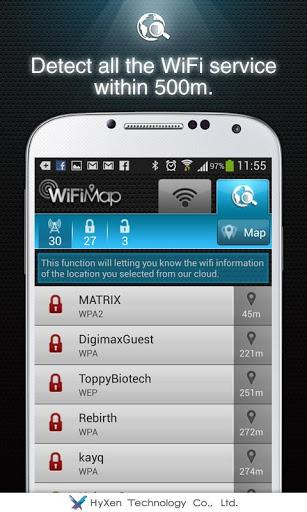 WiFiMap (Free WiFi) screenshot 4