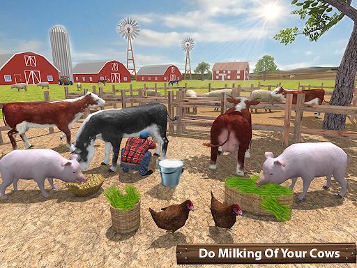 ซิมเกษตรรถแทรกเตอร์อินทรีย์: การเก็บเกี่ยวขนาดใหญ่ screenshot 11