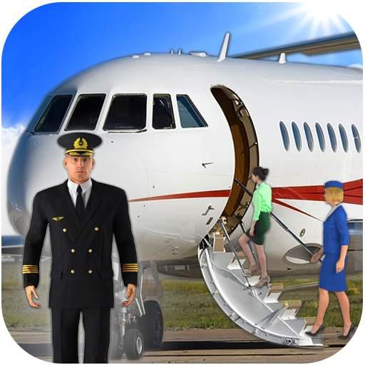 Airplane Real Flight Simulator 2021 : Plane Games