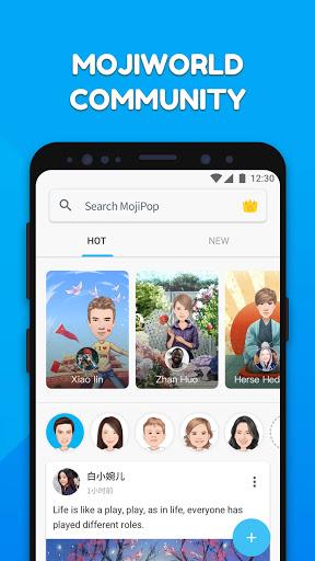 MojiPop - My personal Emoji Maker स्क्रीनशॉट 6
