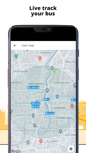 Chalo - Live Bus Tracking App screenshot 1