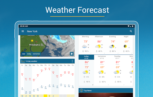 Weather & Radar - Storm radar screenshot 9