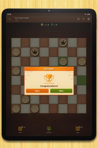 Checkers - strategy board game screenshot 16