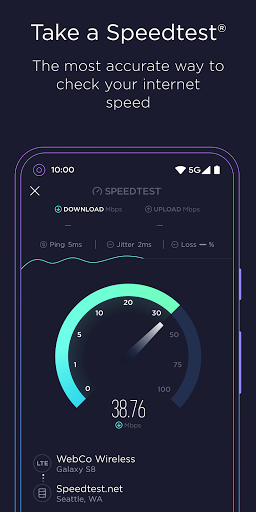 Speedtest oleh Ookla Test Internet Speed screenshot 1