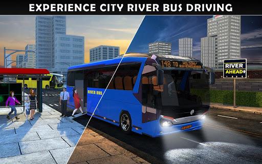 River Bus Driver Tourist Coach Bus Simulator screenshot 17