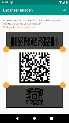 Lector de códigos QR y barras (español) screenshot 4