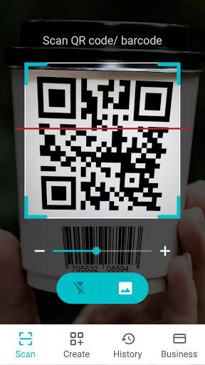 QR Code Scanner KOSTENLOS: Barcode Scanner Deutsch screenshot 1