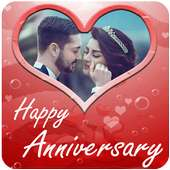 Anniversary Photo Frames on 9Apps