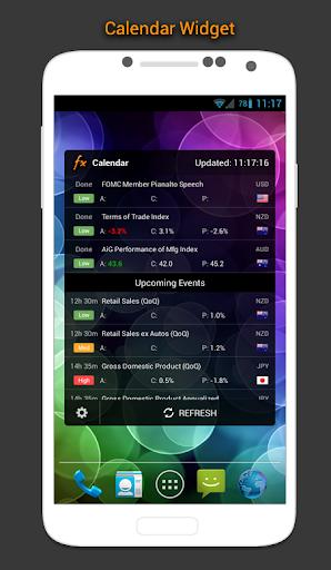 Lịch Forex, Thị trường,Tin tức screenshot 2
