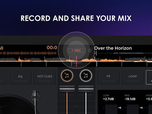 إيدجنغ ميكس: خلاط موسيقي دي جي 10 تصوير الشاشة