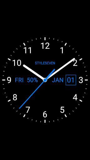 Analog Clock Live Wallpaper-7 screenshot 2