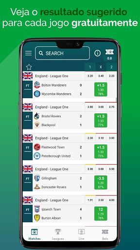 BetMines Dicas e Previsões de Apostas em Futebol screenshot 1