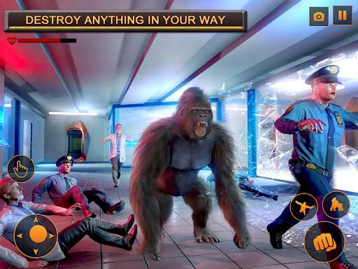 Monster Gorilla Attack-Godzilla Vs King Kong Games screenshot 14