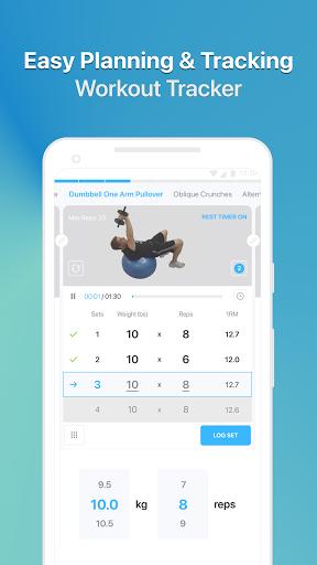 JEFIT Workout Tracker, Weight Lifting, Gym Log App screenshot 3