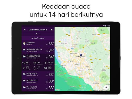 Clime: Radar Cuaca dan Ramalan screenshot 12