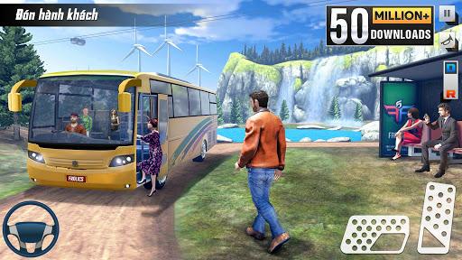 Buýt mô phỏng trò chơi đậu xe - trò chơi xe buýt screenshot 1