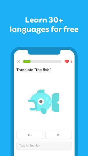 Duolingo: language lessons screenshot 3