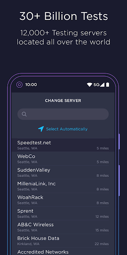 Speedtest oleh Ookla Test Internet Speed screenshot 6