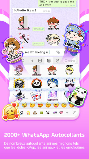 Clavier Facemoji Emoji:Clavier screenshot 8
