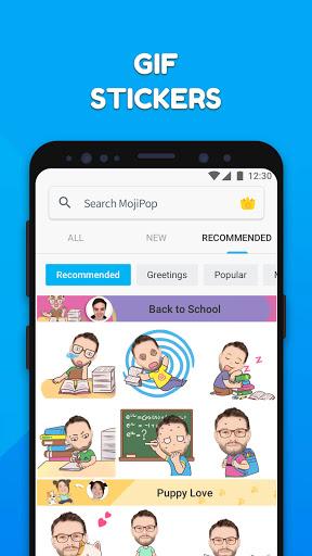 MojiPop - My personal Emoji Maker स्क्रीनशॉट 4