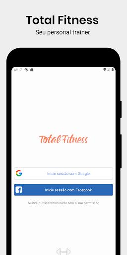 Total Fitness - Treinamento em casa e ginásio screenshot 1