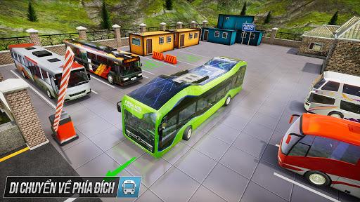 Buýt mô phỏng trò chơi đậu xe - trò chơi xe buýt screenshot 5
