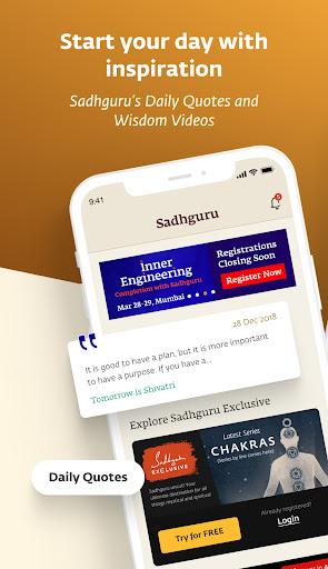 Sadhguru - Yoga, Meditation & Spirituality screenshot 1