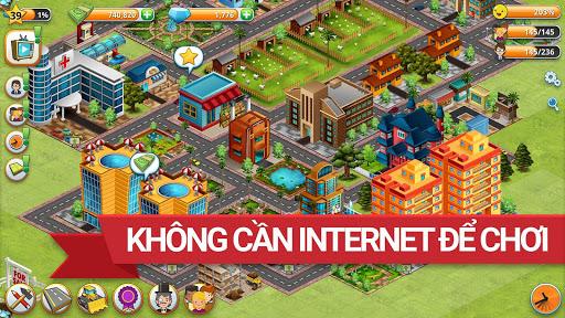 Trò chơi Thành phố Làng Đảo Village Simulation screenshot 5