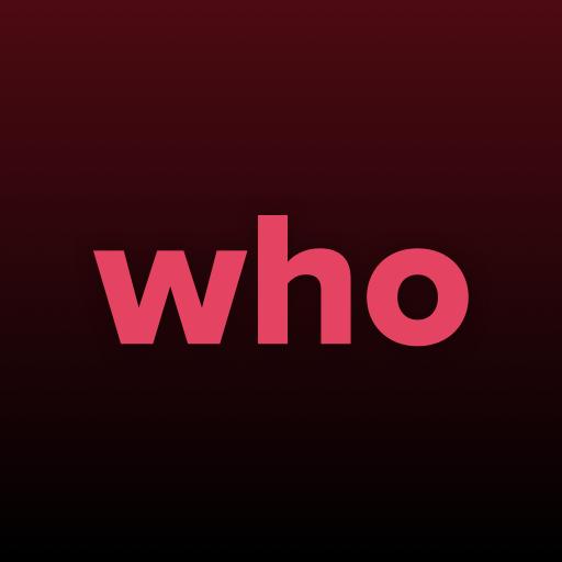 WHO- 실시간 화상 데이트. 매치하고 만나보세요 icon